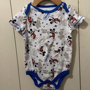 3/$15 Disney Baby Mickey Mouse Onesie